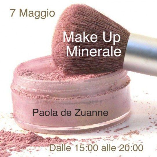 Make Up Minerale con Paola de Zuanne
