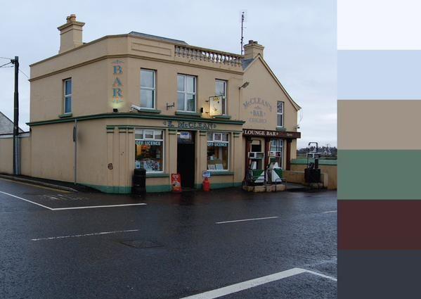 Turfprojects.ie Inishowen Peninsula Donegal Ireland Irish Landscape Inspiration Colour Palettes