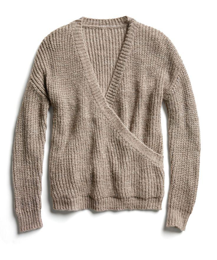 Stitch Fix Fall Stylist Picks: Beige Crossover Sweater