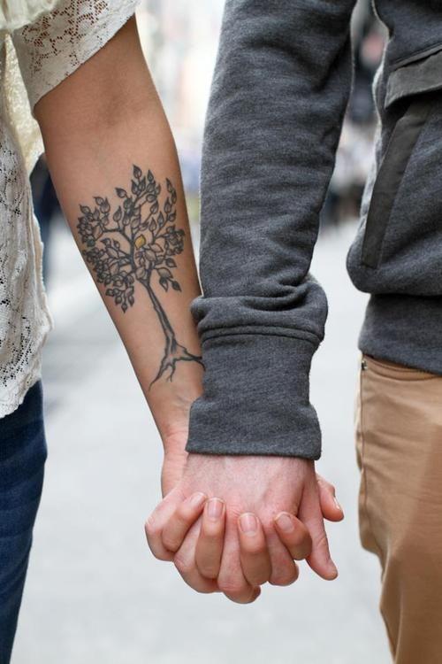 Tree tattoo on the arm. tattoo tattoos ink tattoo patterns tattoo design|