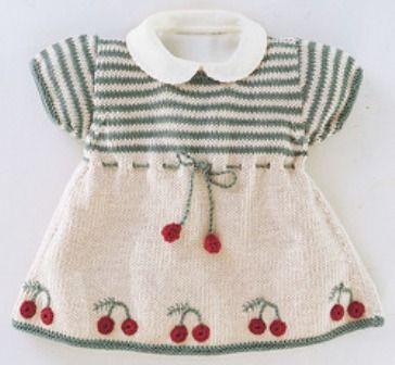 Kız Bebekler İçin Örgü Elbise Modelleri http://www.canimanne.com/kiz-bebekler-icin-orgu-elbise-modelleri.html