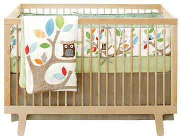 Skip Hop Treetop Friends 4 Piece Crib Bedding Set Contemporary Baby Toys R Owl Themed