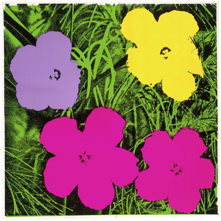 Häufig Die besten 25+ Andy warhol flowers Ideen auf Pinterest | Warhol  XD24
