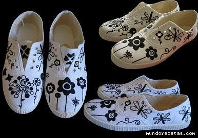 Decorar zapatillas