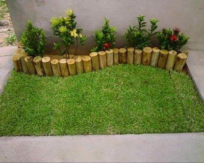 Las 25 mejores ideas sobre jardines bonitos en pinterest for Jardines traseros pequenos