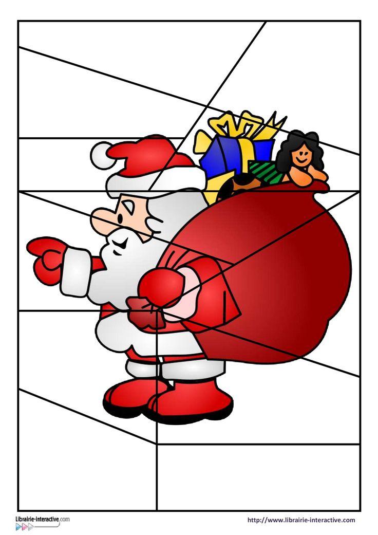 * Puzzelen: Kerstman!