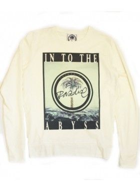 Prints of Paradise Into The Abyss Unisex Handprinted Sweatshirt. Buy @ http://thehubmarketplace.com/index.php?route=product/product&product_id=566