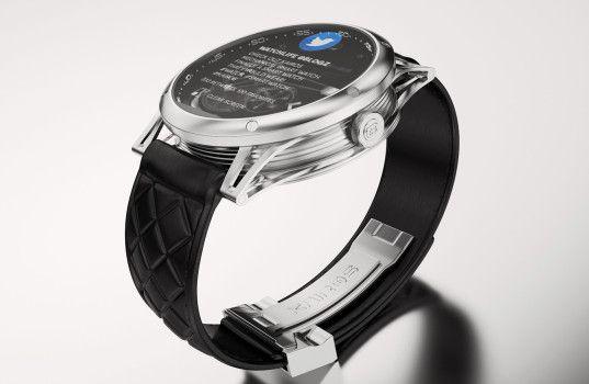 Kairos Watch, la première montre connectée,  http://journalduluxe.fr/kairos-montre-connectee/