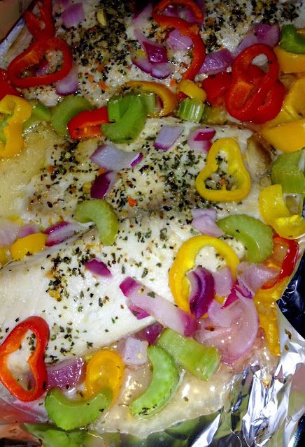Quick, easy, DELICIOUS baked tilapia recipe! #health #RCSOATL #cleaneating