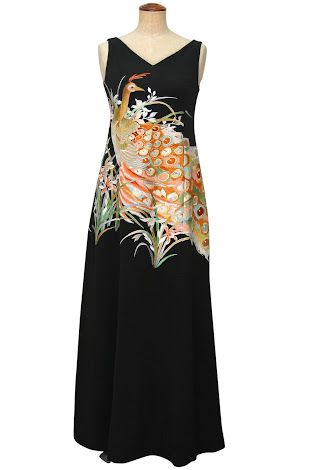 「着物 リメイク ドレス」の画像検索結果