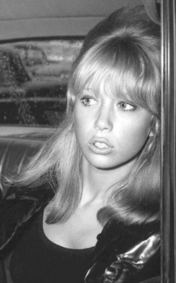Pattie Boyd.  The face that launched a thousand songs.