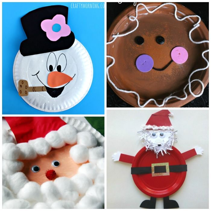20 EASY & FUN PAPER PLATE CHRISTMAS CRAFTS