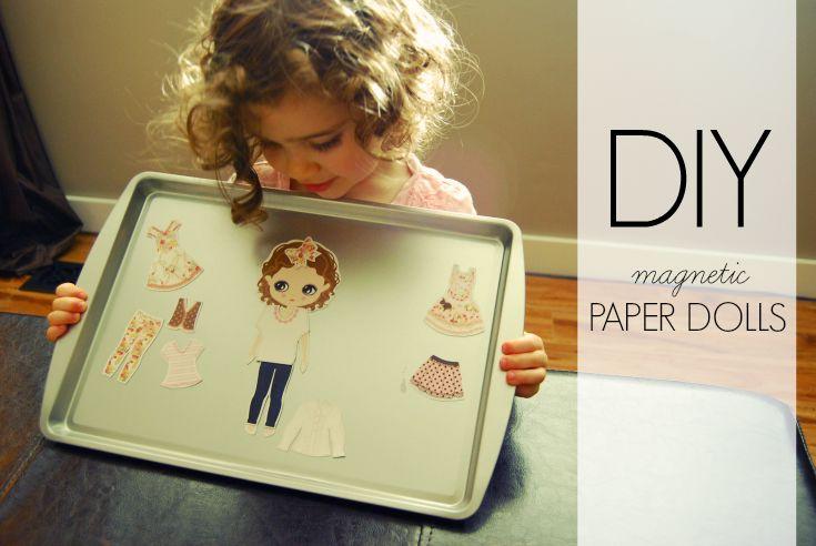 magnetic paper dolls