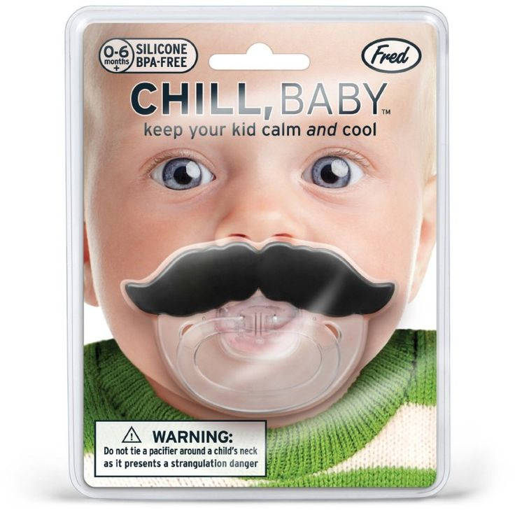 Baby Schnurrbart Schnuller