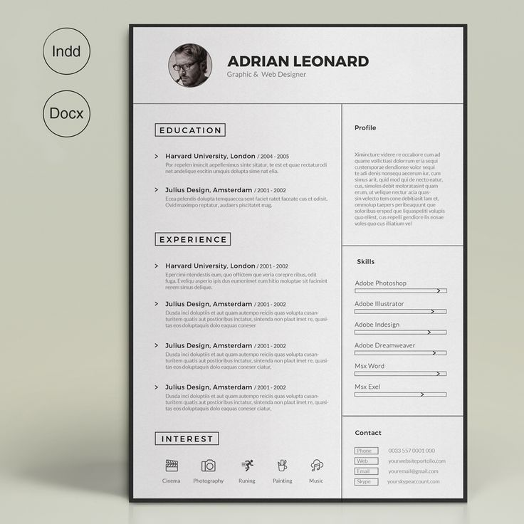 21 best Resumes images on Pinterest Cleanses, Corporate identity - professional resume fonts