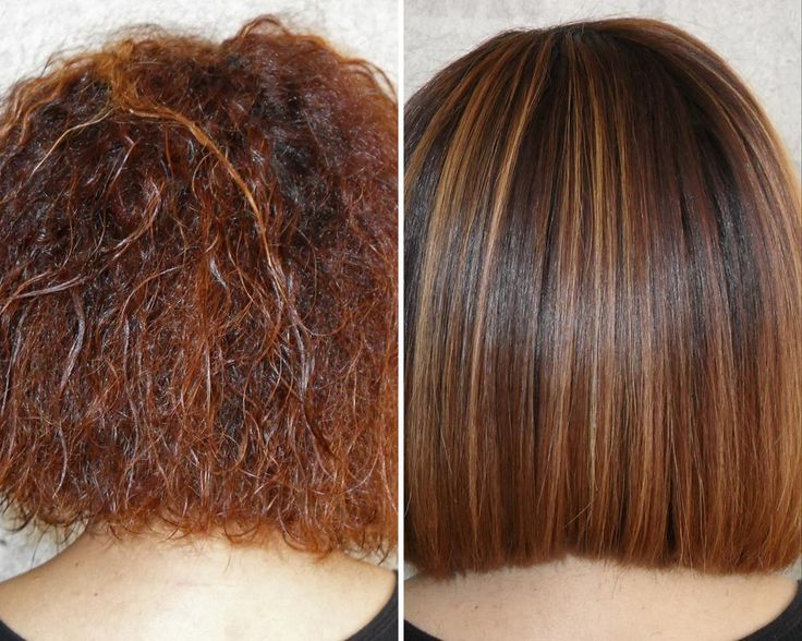 KeraGreen Smoothing Keratin Treatment- Before & After ...