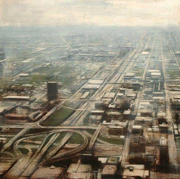 Chicago II.100x100 cms