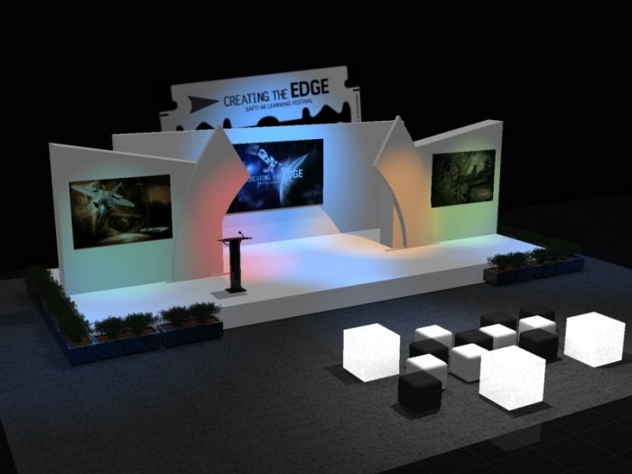 Exhibition Stand Proposal : Stage design d by rommel laurente at coroflot