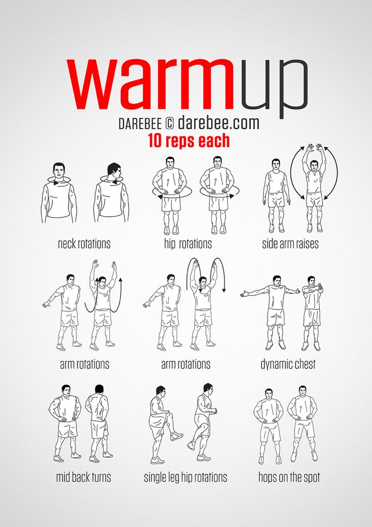 dynamic warm up exercises pdf