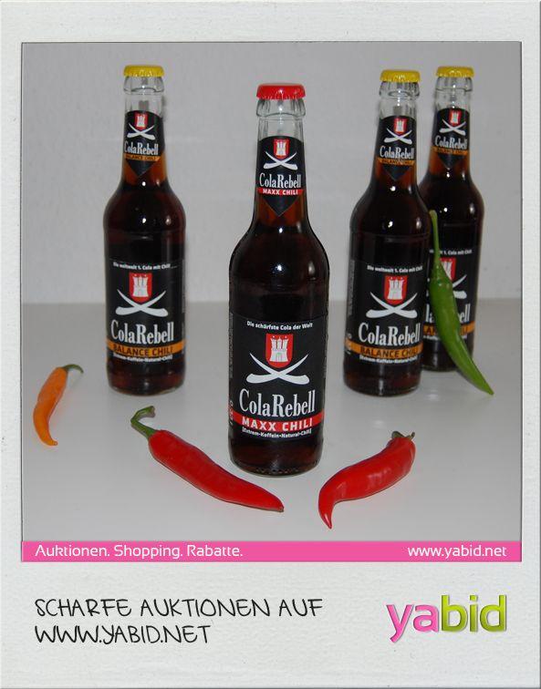 #Fundstück: Für ganz #scharfe! Wir haben auf #Yabid #ChiliCola gefunden. Das schmeckt ganz sicher nicht jedem, ist aber allemal einen Versuch wert :)  http://de.yabid.net/Scharfe-Cola-Food-Restaurants-Classic-Auktion-7010.html