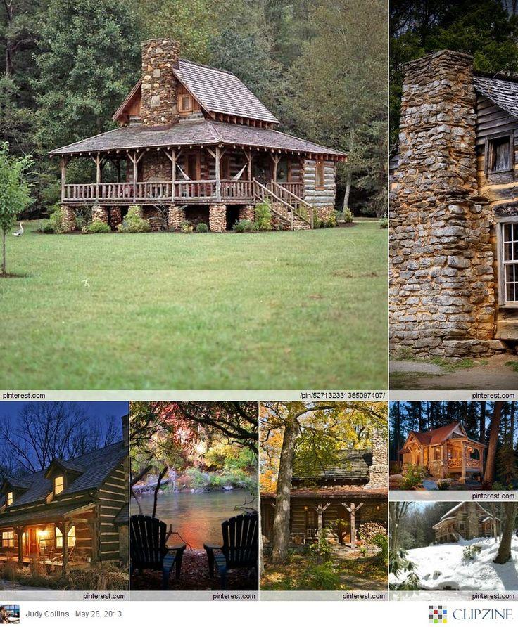Woodideas Sheet Rock And Cabin Bedroom: Best 25+ Cabin Fireplace Ideas On Pinterest