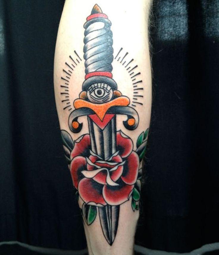 Resultado de imagem para dagger time tattoo