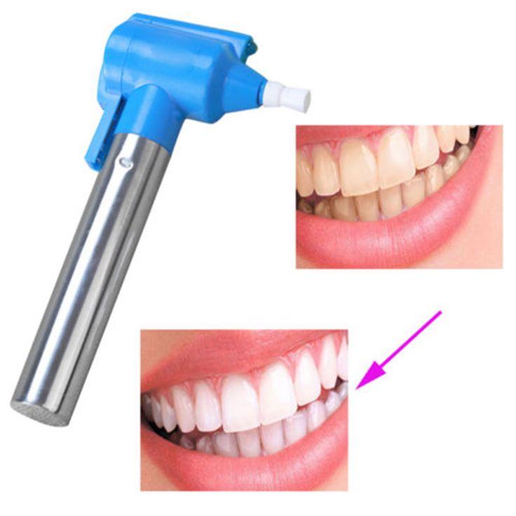 Dental Tooth Whitener Polishing Whitening Teeth Burnisher Polisher Whitener Stain Remover Professional Teeth Whitening Kit