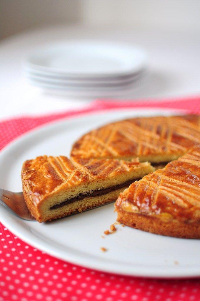 Gâteau basque au nutella - La popotte de Manue