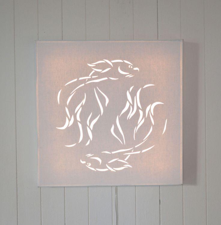 1000 id es sur le th me tableau lune sur pinterest for Decoration murale lumineuse
