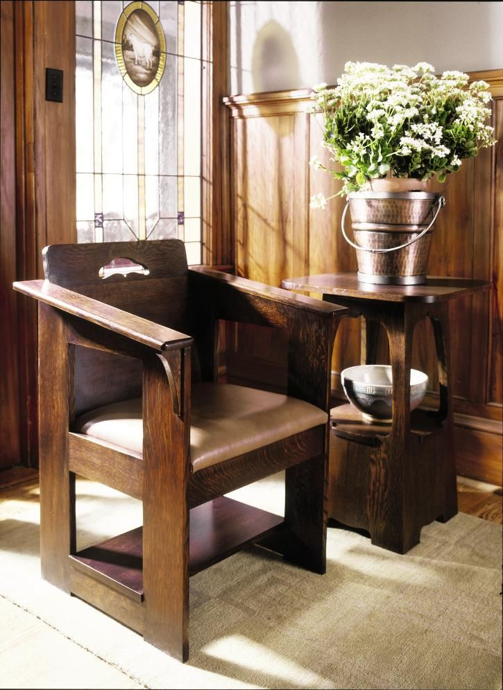 Stylish Recliner: Stickley Mission Furniture