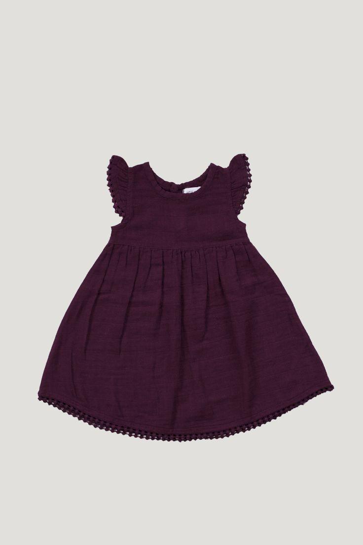 Jamie Kay Poppy Dress / Fig - Pre-Order
