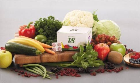 Are you getting your recommended five portions of fruit and vegetables every day? Containing 18 different fruit and vegetables in a chewable tablet, take four a day to top up your levels. Nature's 18 is an easy and convenient way of getting the vitamins and minerals needed for optimum health. Great tasting and ideal for all the family.  https://www.foreverliving.com/retail/shop/shopping.do?task=viewProductDetail&itemCode=271