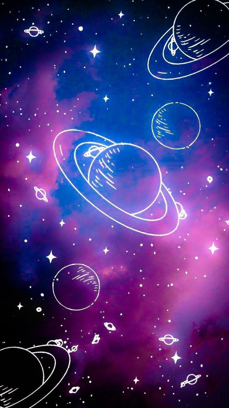 Pin On Cute Wallpapers Galaxy Wallpaper Space Phone Wallpaper Neon Wallpaper