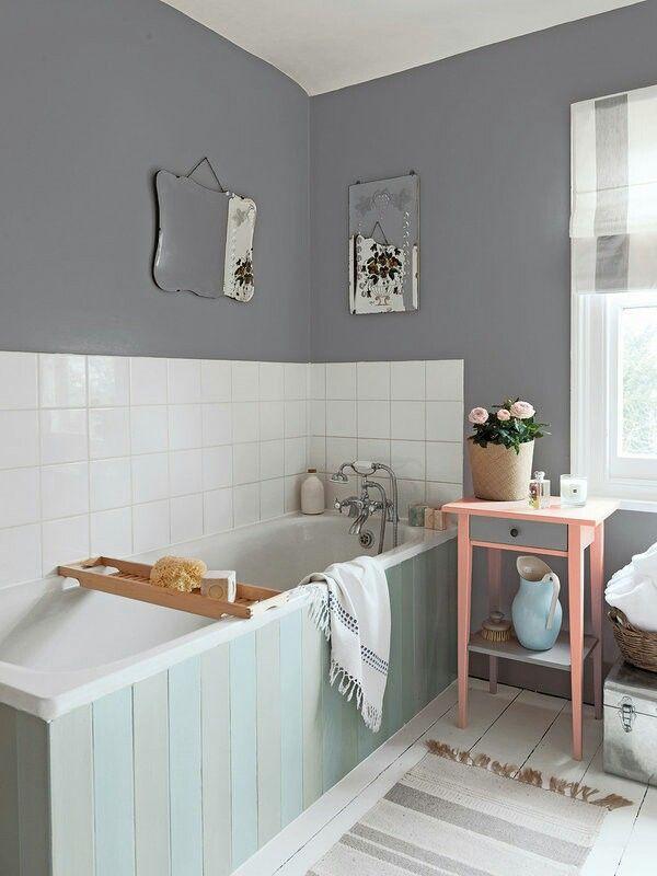 M s de 25 ideas incre bles sobre pintando azulejos de ba o en pinterest pintar azulejos de - Banos azulejos pintados ...