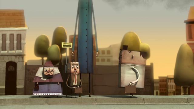 'Manfred' an animated short by Arjen Klaverstijn by Arjen Klaverstijn.