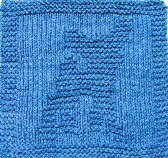 Baby Washcloths Knitting Patterns: Knitting Cloth Pattern FAWN PDF By Ezcareknits On Etsy, $3