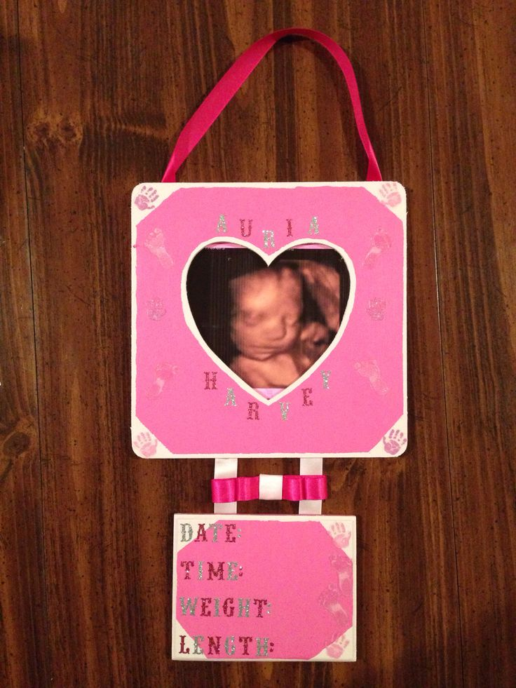 #Name #plaque #hospital #deliveryroom #delivery #announcement #handprints #footprints #date #time #weight #length #baby #girl #babyshower #pink #navyblue #grey #babyroom this is the #wall hanging baby delivery announcement I made one of my very #bestfriends for her baby girl Auria!!!  :) now she can keep it forever & have the BEST looking announcement in the hospital ;) #keepsake #4d #sonogram #picture #newborn #cute #special #DIY