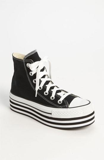 #Converse Chuck Taylor #Platform Hi #Sneakers (Women) white/black nordstrom