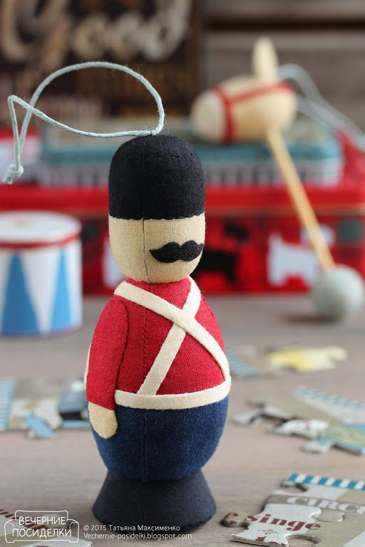 Старинные игрушки / Vintage toys - Вечерние посиделки