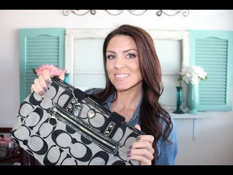 ▶ How to Clean Your Designer Handbag- At Home - YouTube
