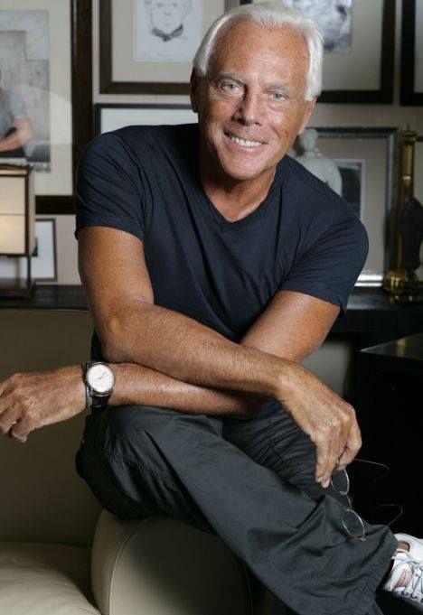 ¡Felicidades al #diseñador italiano Giorgio Armani, que acaba de cumplir 40 años en el mundo de la #moda! Aunque este 2014 cumple 80 años, ha asegurado que no tiene intención de retirarse.