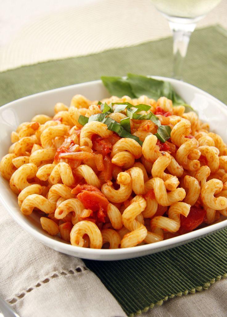 Cavatappi Amatriciana | A Carrabba's Recipe Redo by dashofeast #Cavatappi_Amatriciana #dashofeast