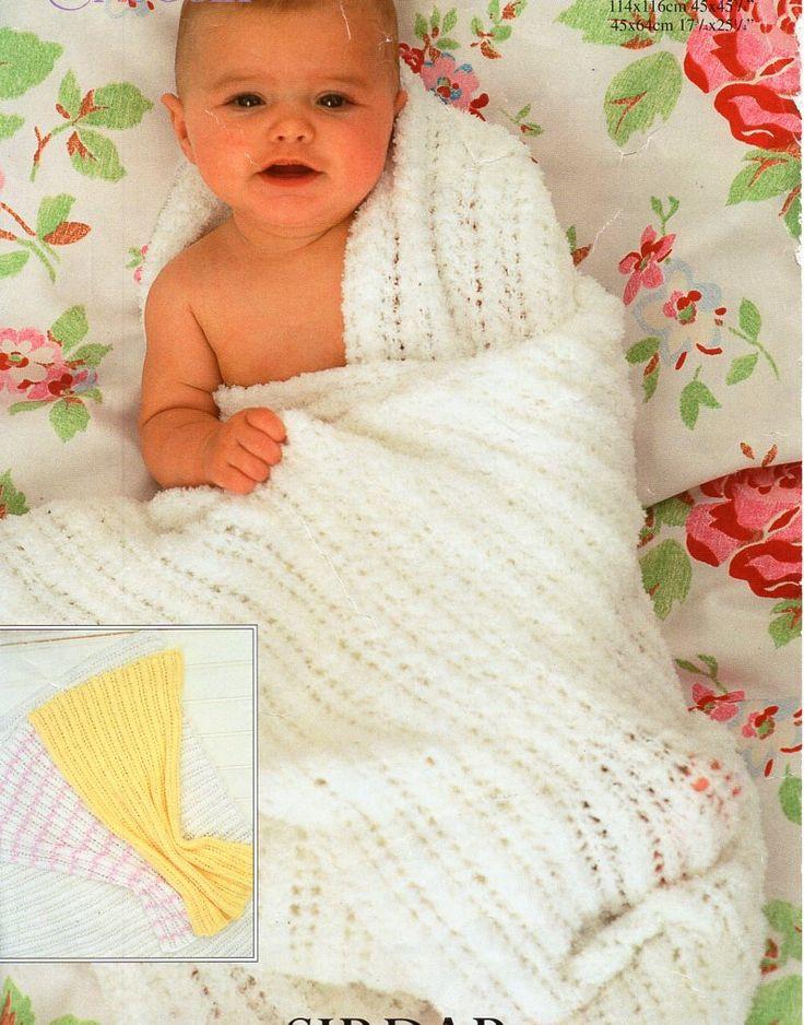 53 best Vintage Baby shawls & blankets knitting Knit ...