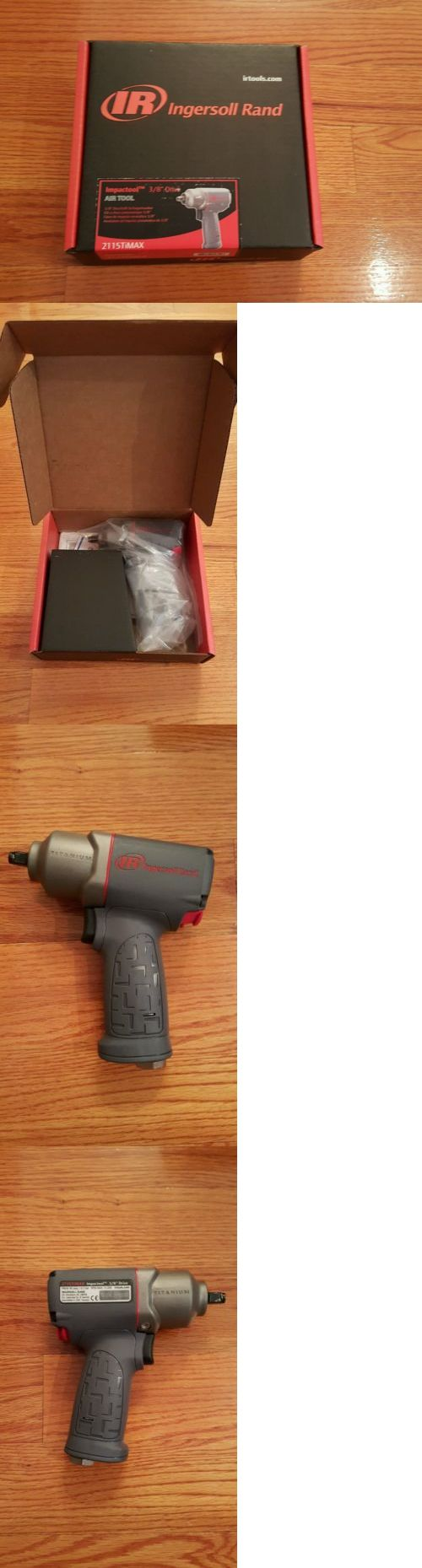 Wrenches 22663: New In Box Ingersoll Rand 2115Timax 3 8 Titanium Air Impact Wrench Gun Tool -> BUY IT NOW ONLY: $190 on eBay!