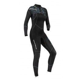Scubapro Element Five Lady Wetsuit - Heldräkter - Våtdräkter - Dräkter och tillbehör - Dykning