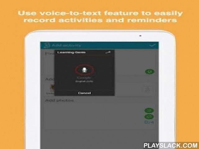 learning genie for childcare android app playslackcom learning genie for childcare is
