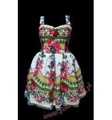 Sukienka Kargulinka, cudowna góralska kreacja