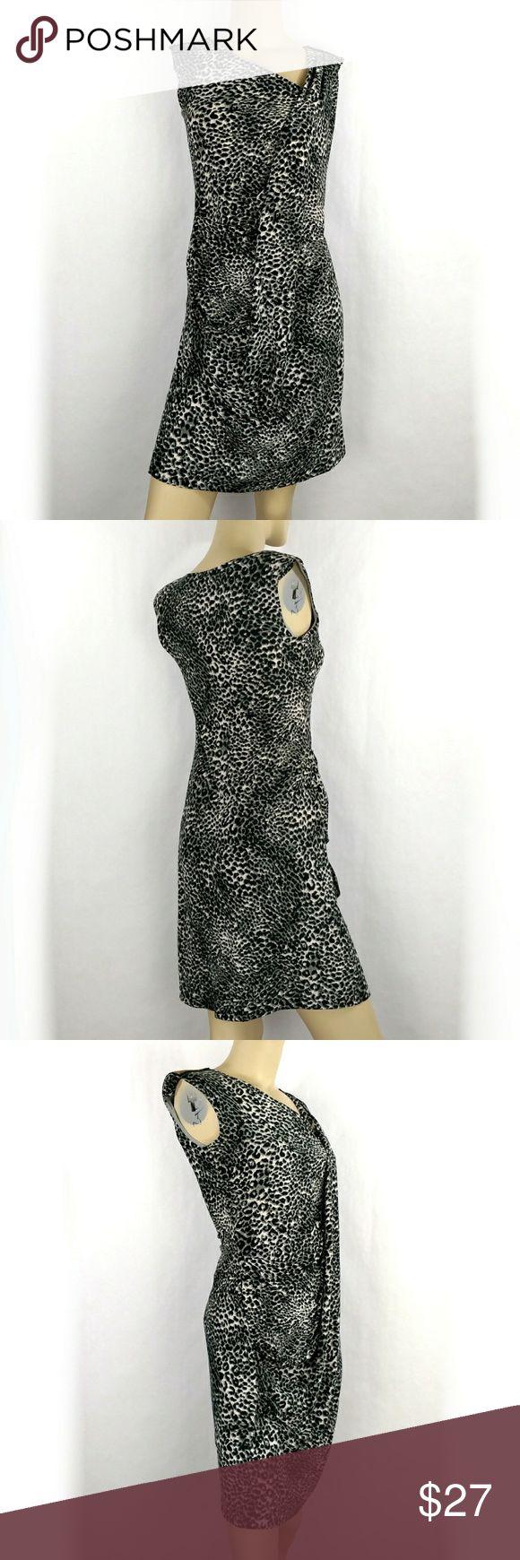 TANGO animal print bodycon pencil dress. Medium TANGO animal print grey black bodycon pencil dress Womens Medium (J) tango Dresses