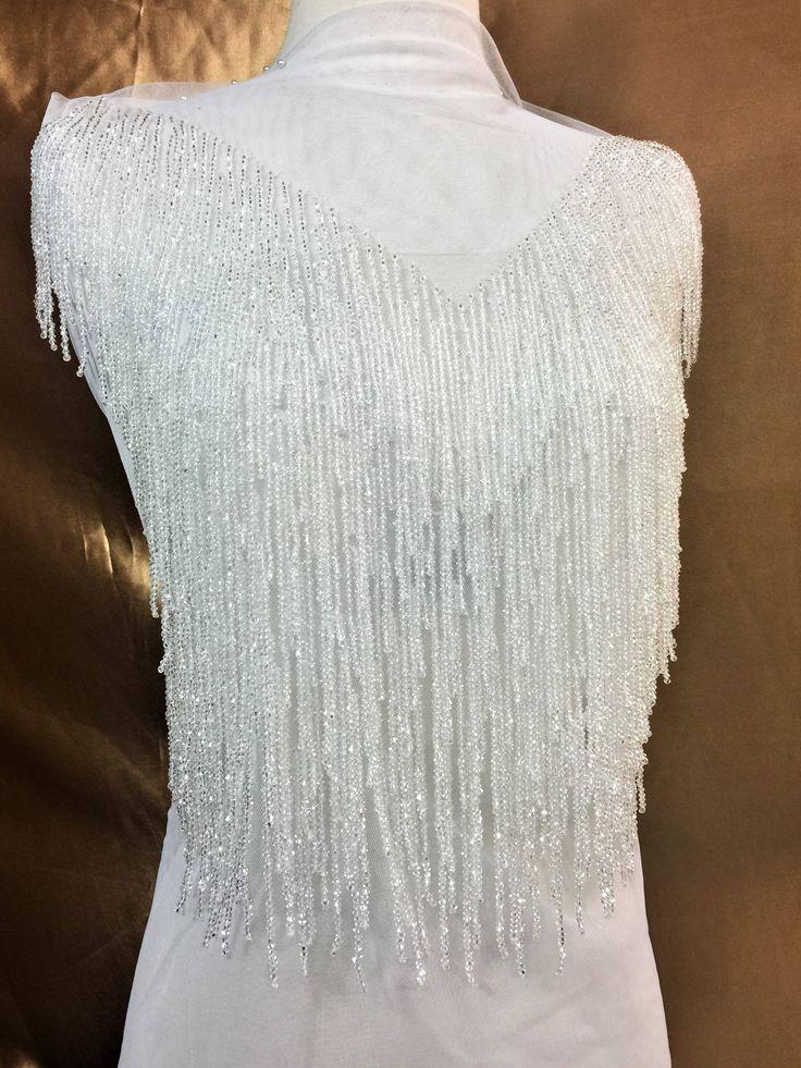 27 best full body rhinestone applique images on pinterest for Full body wedding dress