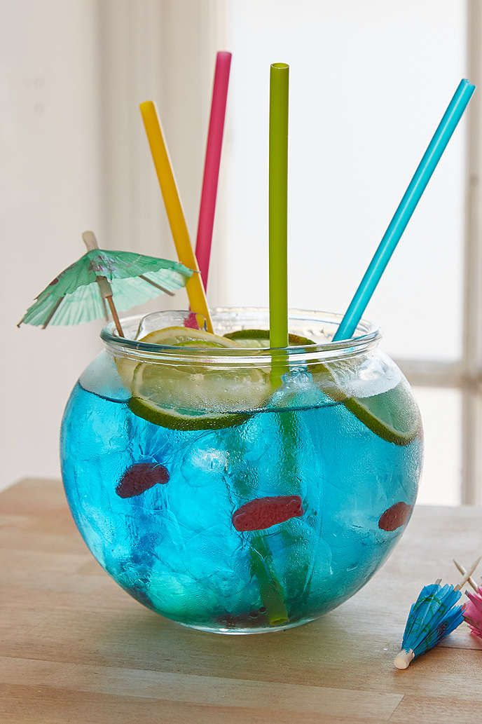 Best 25 fishbowl drink ideas on pinterest hunch punch for Fish bowl punch
